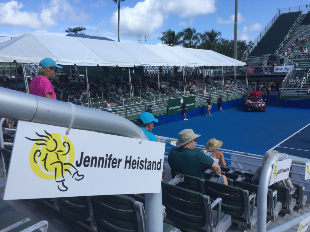Jennifer Heistand at Delray Beach Tennis Center