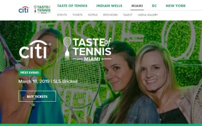 Citi Taste of Tennis Miami Event – Favorite Tennis Stars and Leading Chefs